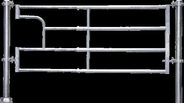 Abtrennung R4 (3/4) Becken, Montagelänge 320 - 425 cm