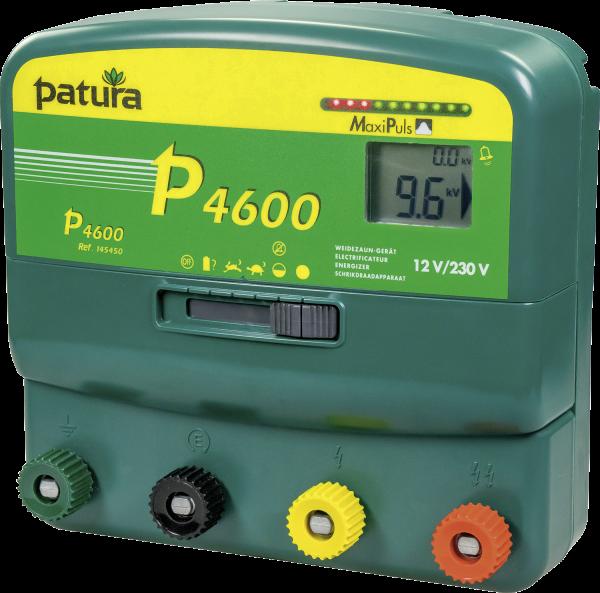 Patura P4600, vorbereitet für Fernbedienung, Kombi-Weidezaungerät 230V/12V