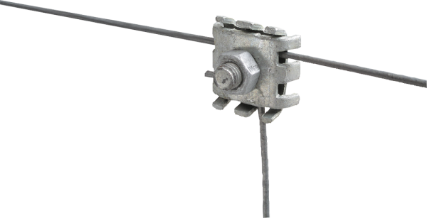 5 Stk. Drahtverbindungsklemme, verzinkt, optimale elektrische Verbindungen