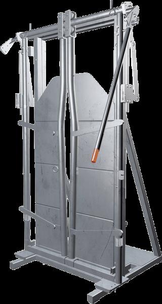 Halsfangvorrichtung A4000 mit Ständer, feuerverzinkt
