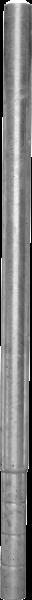 Pfosten 102, Länge 1,65 m, mit Bodenplatte für Spaltenboden