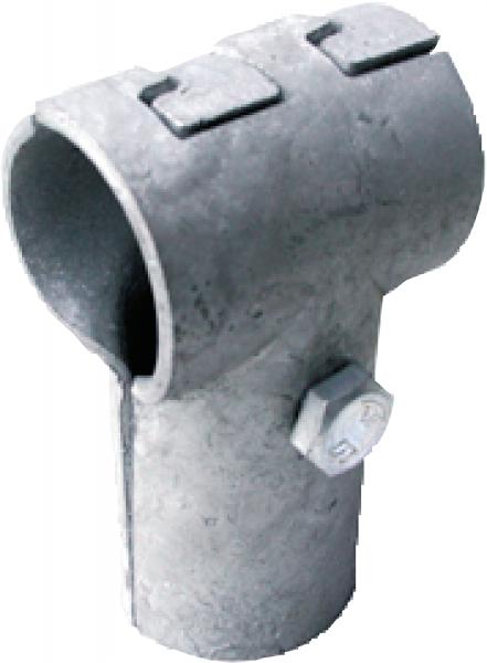 T-Schelle, verzahnt, 42 mm x 42 mm