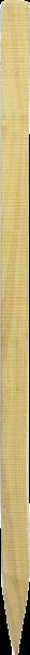Robinienpfahl vierkant, Länge 1,5 m, 6x6 cm