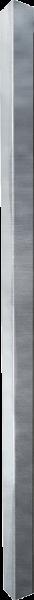 Pfosten 90, Länge 1,95 m, mit Bodenplatte