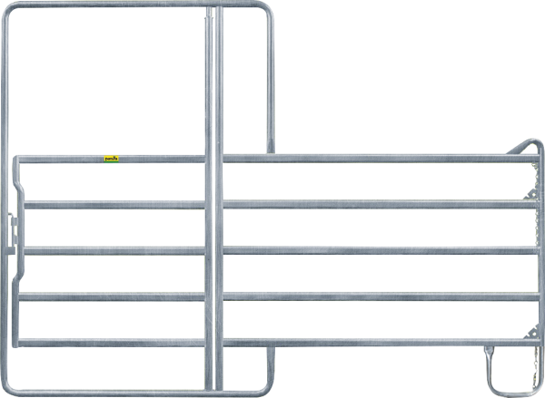 Panel-5 mit Tor, Länge 3,60 m, Höhe 2,20 m