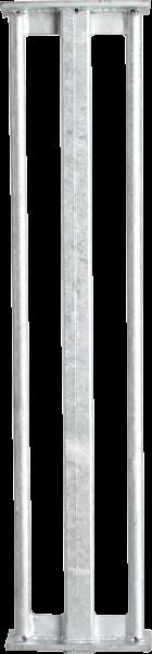 Rammer, Länge 1,24 m, für Hartholz-Pfähle bis 50 x 50 mm