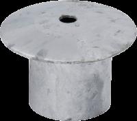 Abdeckung für Einbauhülse 60 mm