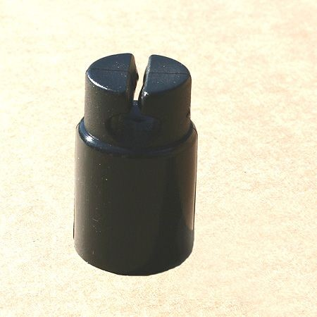 Euro-Netz-Kunststoffkappe Jumbo, für 19 mm Pfahl