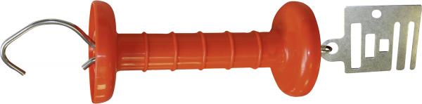 Spezial-Torgriff Breitband, Edelstahl, mit Anschlußplatte für Band bis 20 mm