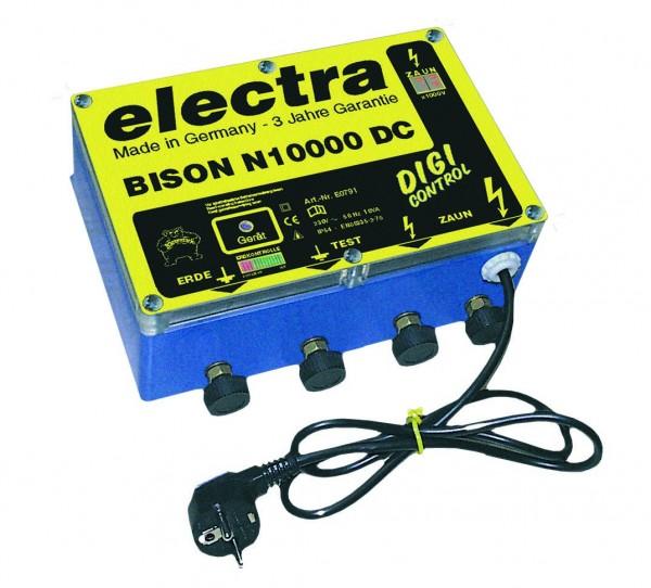 BISON N 10000 DC, Weidezaungerät für 230 V Netz