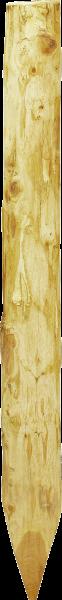 Robinienpfahl halbiert, Länge 1,5 m, D = 13-15 cm