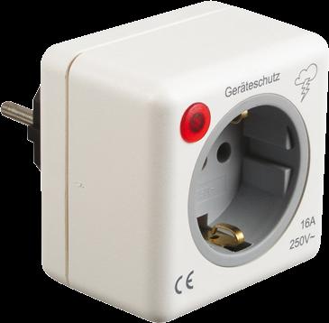 Geräte-Schutzstecker 230V, Überspannungsschutz