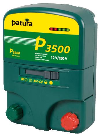 Patura P3500, Kombi-Weidezaungerät 230V/12V