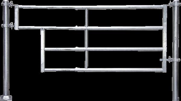 Abtrennung R4 (1/2) Tränke, Montagelänge 185 - 275 cm