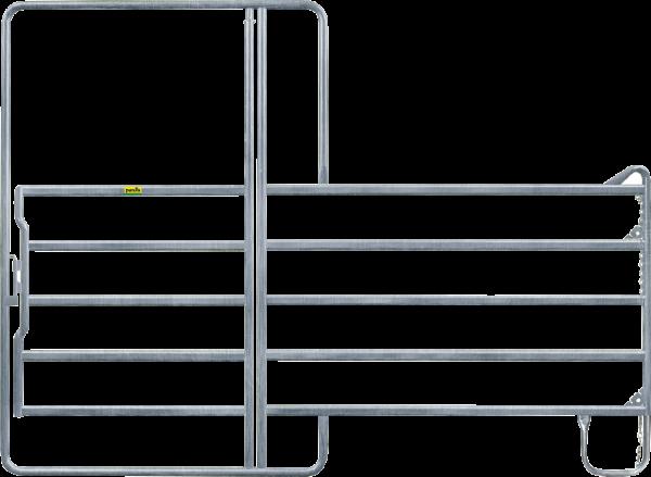 Panel-5 mit Tor, Länge 2,40 m, Höhe 2,20 m