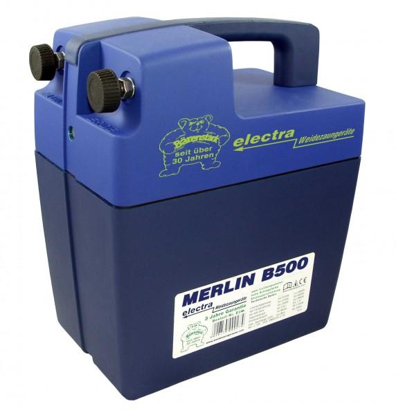 Merlin B500, unser stärkstes 9V Weidezaungerät