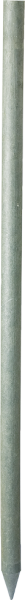 Recycling-Kunststoffpfahl rund, Länge 1,75 m, D = 6 cm