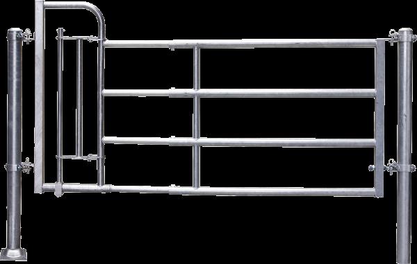 Abtrennung R4 (3/4) Personenschlupf, Montagelänge 325 - 425 cm
