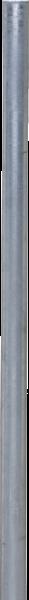 Pfosten 60, Länge 1,35 m, mit Bodenplatte
