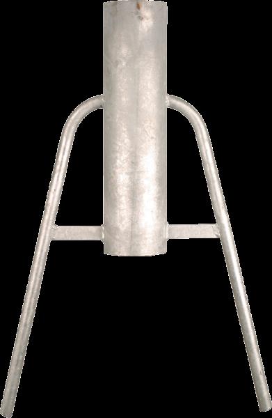 Handramme, Handrammer zum Einschlagen von Holzpfählen bis 12 cm Drm.