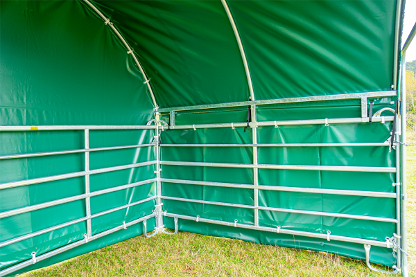 Wetterschutzplane Seitenteil 6 m (für Panel-Dach Compact)