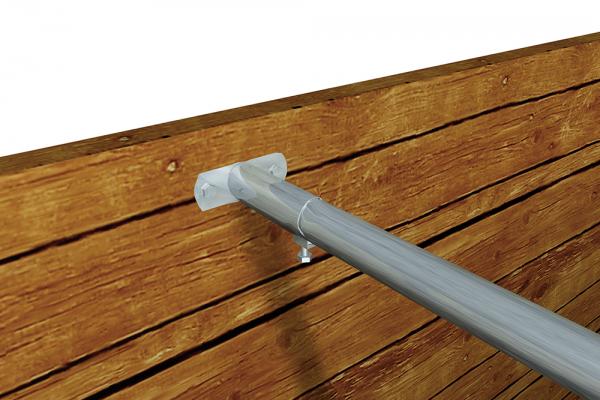Fester Wandhalter für Rohr 48,3 mm