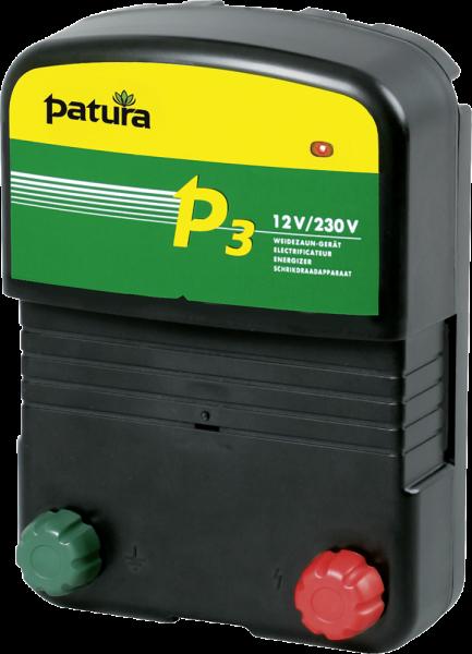 Patura P3, Kombi-Weidezaungerät 230V/12V