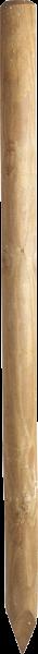 1,50 m Ø 7 cm Holzpfosten, imprägniert, gespitzt
