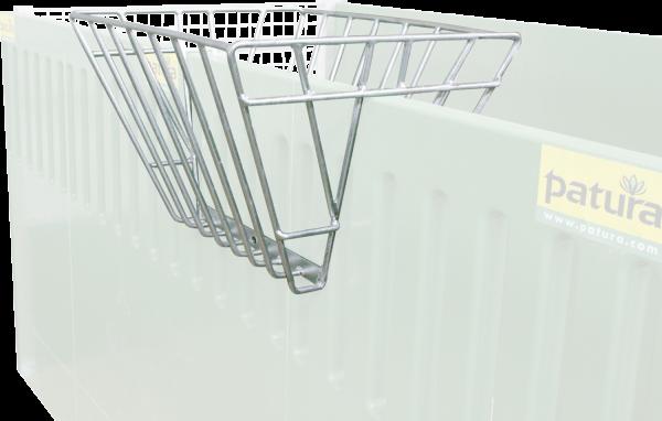 Heuraufe zum Aufstecken auf Wände und Rohre bis 50 mm