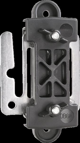 3 Stk. Breitband-Zug- und Eckisolator, mit Verbindungsplatte, für Bänder bis 40 mm