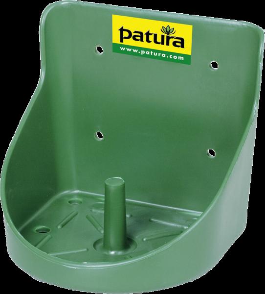 Kunststoff-Lecksteinhalter, für 10 kg Stein, rund, grün