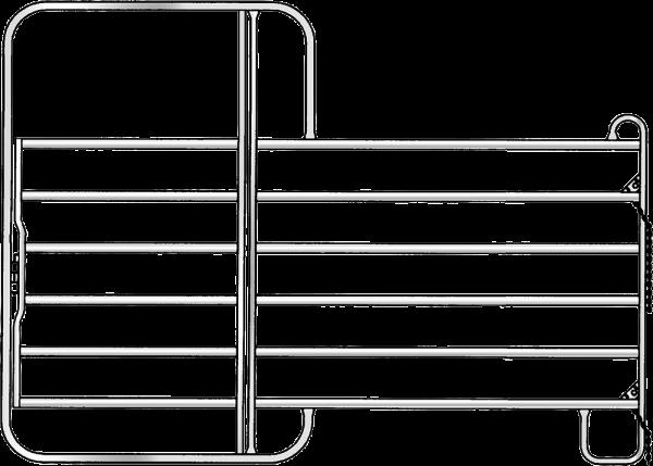 Panel-6 mit Tor, Länge 3,00 m, Höhe 2,20 m