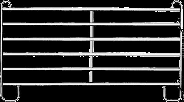 Panel-8 Plus, Länge 3,00 m, Höhe 1,94 m, mit Blechverkleidung