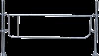 Abtrennung R2LB(2/3), Höhe = 60 cm, Montagelänge 190 - 250 cm