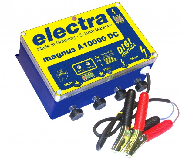 magnus A10000 DC, Weidezaungerät für 12 V Akku