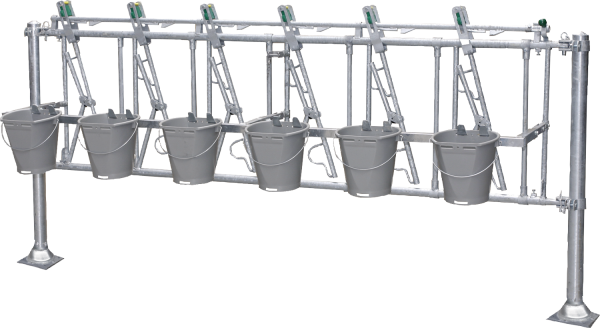 Nuckeleimer-Montagesatz 6/3, Länge 3 m