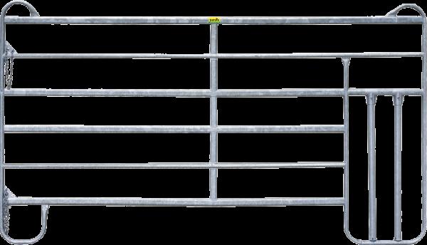 Panel-6 mit Kälberschlupf, Länge 3,00 m, Höhe 1,70 m