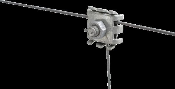 25 Stk. Drahtverbindungsklemme, verzinkt, optimale elektrische Verbindungen