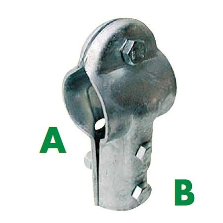 T-Schelle, 3 Schrauben, 76 mm x 60 mm