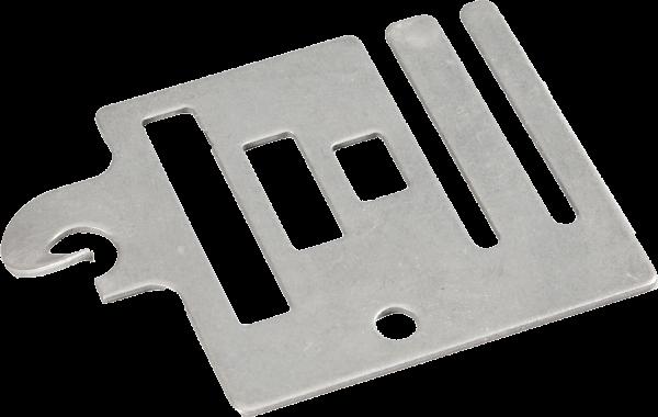3 Stk. Torgriff-Anschlussplatte bis 20 mm