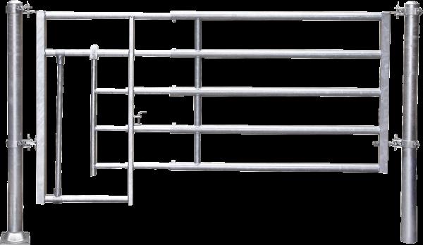 Abtrennung R5 (2/3) Kälberschlupf, Montagelänge 245 - 345 cm