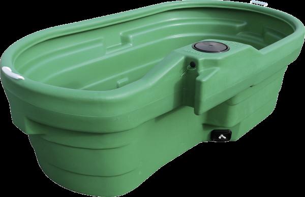 Weidetränke, oval, 550 Liter, ohne Schwimmerventil