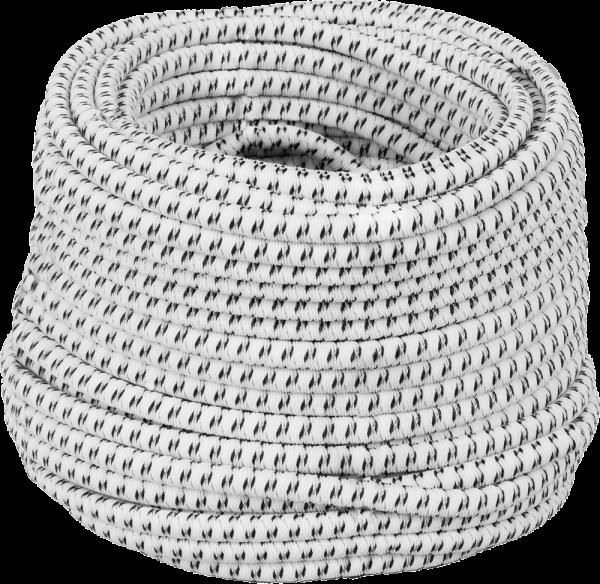 25 Meter Elastikseil (Gummiseil), stromleitend, zum Selbstbau von Torsets