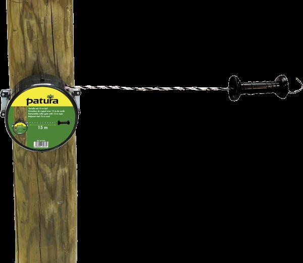 Torrolle mit 15 m Seil
