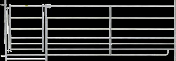 Steckfix-Horde mit Tor, Länge 2,75 m, Höhe 0,92 m