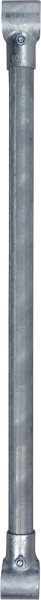 Zwischenstange mit 2 T-Schellen für Fressgitter SV und SSV