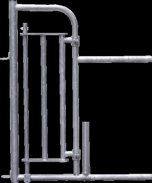 Personenschlupf für Fressgitter, mit Tür