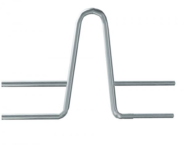 Nackenbügel für Fressliegebox, 48,3 / 38 mm, H = 90 cm, Breite 1,10 bis 1,25 m