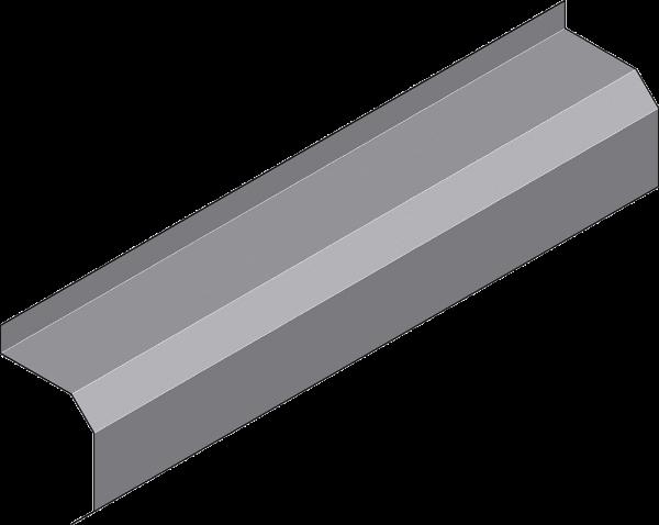 Abdeckhaube für Roll-Tore, Breite 2,5 m
