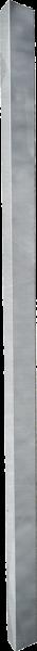 Metallpfosten für Weidetore, 80 x 80 mm, Länge 2 m